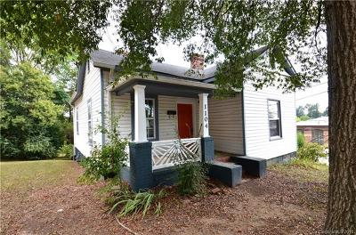 Charlotte Single Family Home For Sale: 1104 Pamlico Street