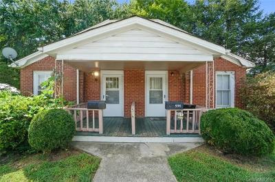 Mooresville Single Family Home For Sale: 596 Broad Street