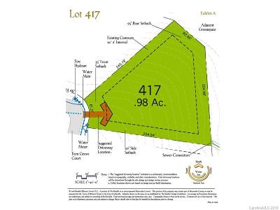 Residential Lots & Land For Sale: 221 Fern Grove Court #417