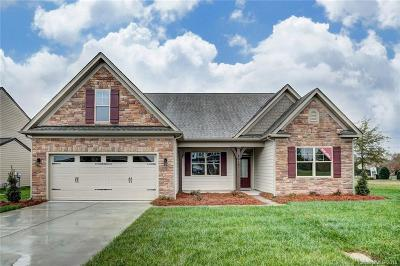 Indian Trail Single Family Home For Sale: 2010 Knocktree Drive #Lot 37