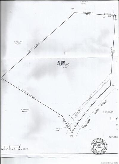 Residential Lots & Land Sold: 600 Thermal View Drive