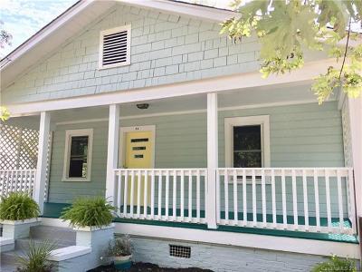 Asheville Single Family Home For Sale: 51 Dorchester Avenue