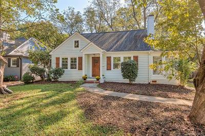 Myers Park Single Family Home For Sale: 2919 Park Road