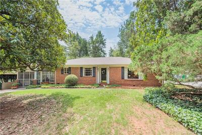 Single Family Home For Sale: 1201 Greylyn Drive