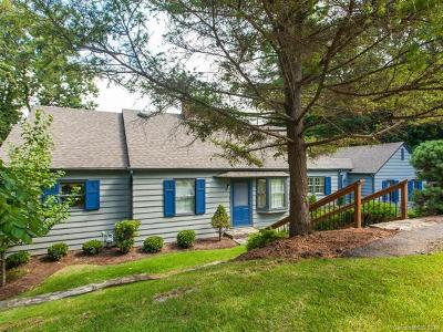Asheville Single Family Home For Sale: 7 Pine Tree Road