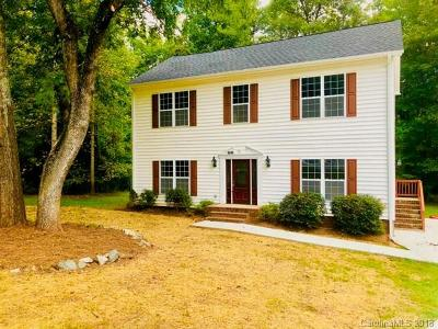 Mint Hill Single Family Home Under Contract-Show: 8636 Quarters Lane