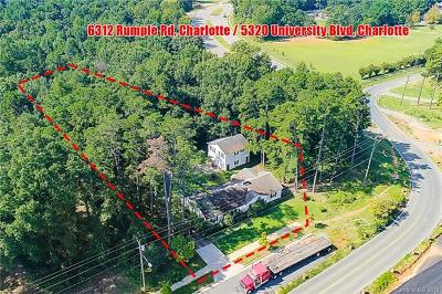 Multi Family Home For Sale: 5320 University City Boulevard