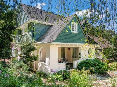Asheville Single Family Home For Sale: 1 Hillside Walk
