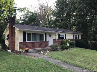 Candler Single Family Home For Sale: 40 Vista Drive