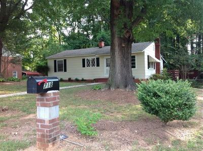 Kannapolis Single Family Home For Sale: 718 Keever Avenue