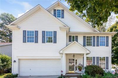 Matthews Single Family Home For Sale: 2826 Ritz Lane