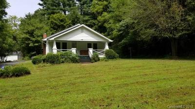 Candler Single Family Home For Sale: 980 & 982 Monte Vista Road