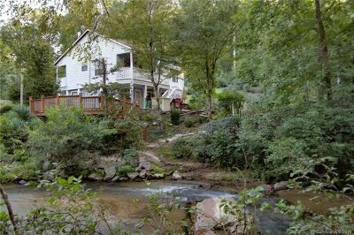 Lake Lure, Chimney Rock, Bat Cave, Black Mountain, Saluda, Mill Spring, Columbus, Tryon, Rutherfordton, Union Mills Single Family Home For Sale: 495 Antioch Road