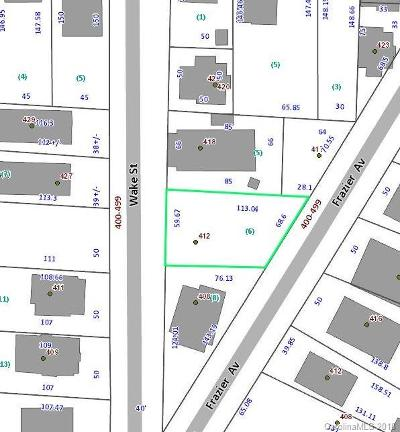 Residential Lots & Land Under Contract-Show: 412 Wake Street