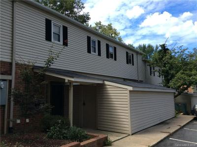 Charlotte Condo/Townhouse For Sale: 5941 Quail Hollow Road #C