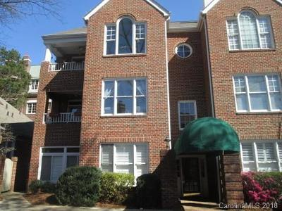 Myers Park Condo/Townhouse For Sale: 2315 Selwyn Avenue #H