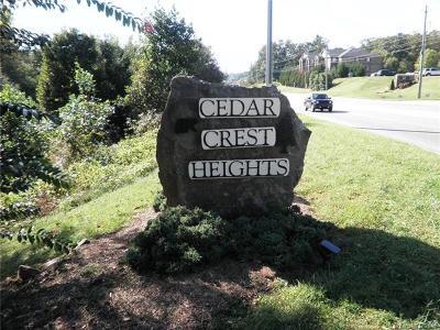 Asheville Residential Lots & Land For Sale: 312 Cedar Crest Drive #2