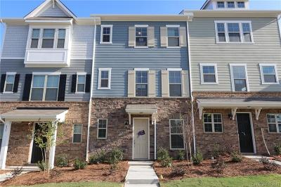 Charlotte Condo/Townhouse For Sale: 837 Imperial Court #31
