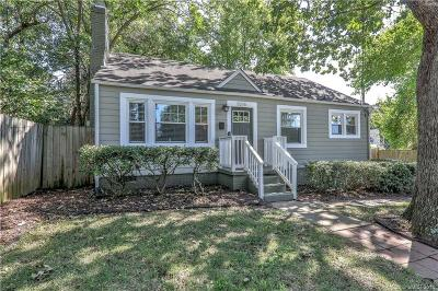 Charlotte Single Family Home For Sale: 1015 Anderson Street