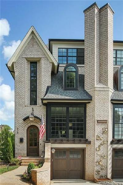 Dilworth Condo/Townhouse For Sale: 818 Ideal Way #F
