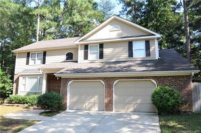 Matthews Single Family Home For Sale: 116 Sardis Grove Lane