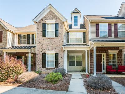 Charlotte Condo/Townhouse For Sale: 8713 Wandering Creek Way