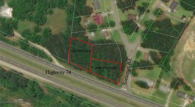 Wadesboro Residential Lots & Land For Sale: Us Hwy 74 Highway