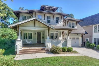 Charlotte Single Family Home For Sale: 532 Hillside Avenue