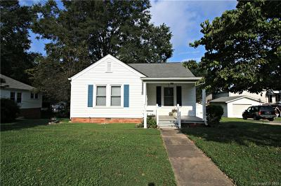 Kannapolis Single Family Home For Sale: 100 Hemlock Avenue