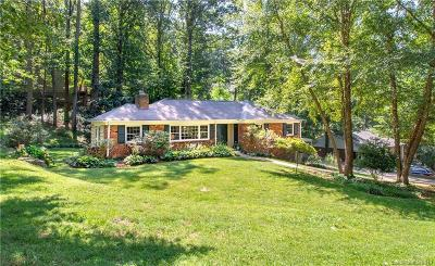 Asheville Single Family Home For Sale: 36 Griffing Circle
