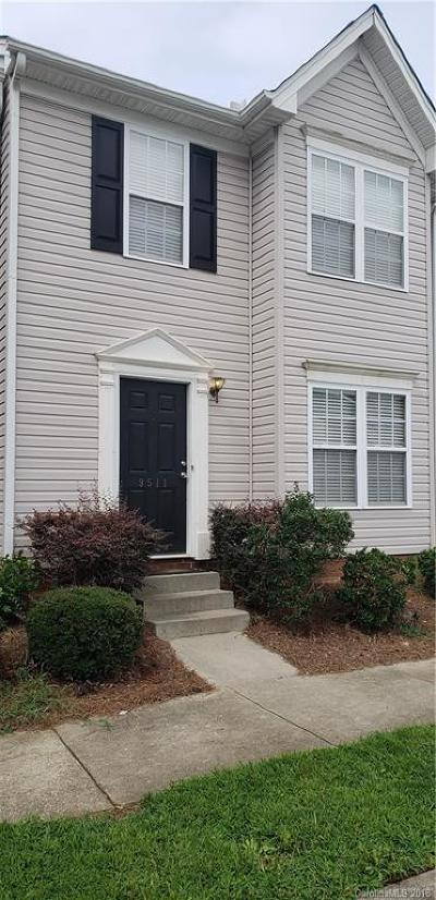 Charlotte NC Condo/Townhouse For Sale: $136,000