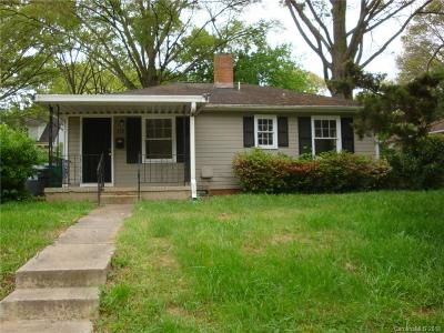 Charlotte Single Family Home For Sale: 110 Turner Avenue N #3