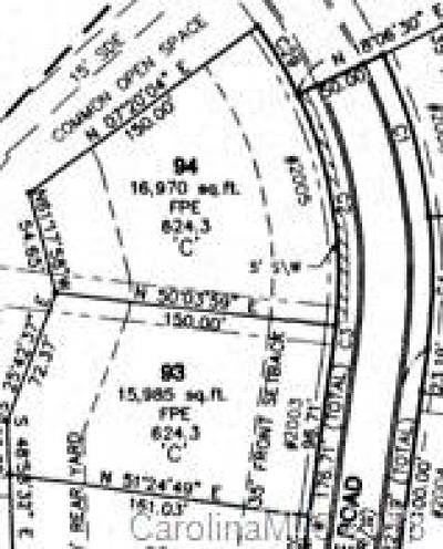 Indian Trail Residential Lots & Land For Sale: 2005 Thorndale Road #94