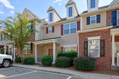 Charlotte Condo/Townhouse For Sale: 8748 Twined Creek Lane