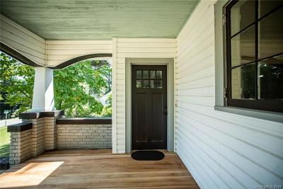 Asheville Single Family Home For Sale: 164 Chatham Road