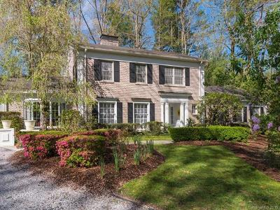 Hendersonville NC Single Family Home For Sale: $1,200,000