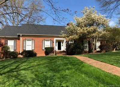 Charlotte Single Family Home For Sale: 3839 Larkston Drive