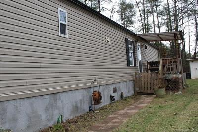 Alexander NC Single Family Home For Sale: $129,000