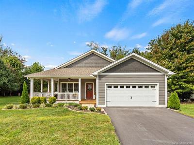 Fletcher Single Family Home For Sale: 49 Fox Creek Drive