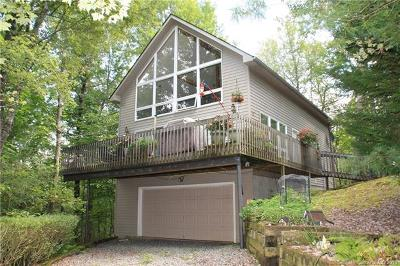 Brevard Single Family Home For Sale: 351 Jeep Road #7 &