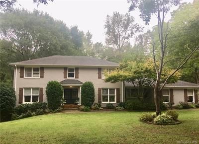 Charlotte Single Family Home For Sale: 4608 McAlpine Farm Road