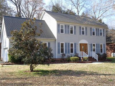 Cabarrus County Single Family Home For Sale: 8238 Quail Hollow Drive