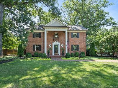 Southpark, Myers Park Single Family Home For Sale: 2115 Selwyn Avenue