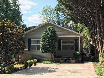 Charlotte Single Family Home Under Contract-Show: 1609 N McDowell Street