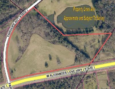 Residential Lots & Land For Sale: 17 AC Alexander Love Bypass