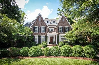 Charlotte NC Single Family Home For Sale: $3,095,000