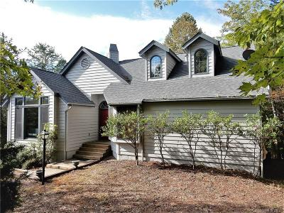 Lake Lure Single Family Home Under Contract-Show: 212 Ridgeway Road