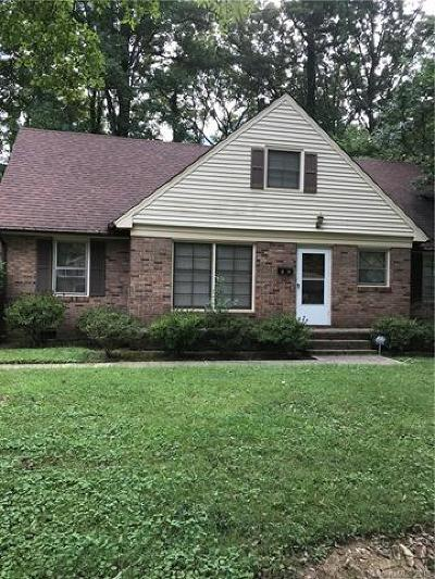 Charlotte Single Family Home For Sale: 1317 Shannonhouse Drive