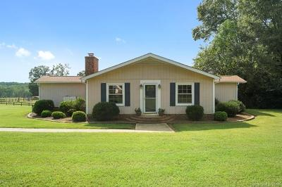 Waxhaw Single Family Home For Sale: 4807 Lon Parker Road