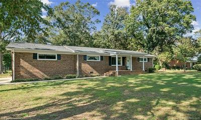 Single Family Home For Sale: 9307 Mt Holly-Huntersville Road